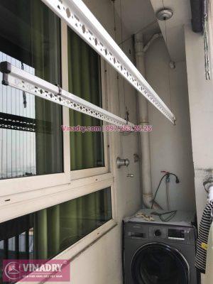 Vinadry thay bộ tời giàn phơi KS950 cho nhà anh Tạo tại chung cư 25 Tân Mai, quận Hoàng Mai