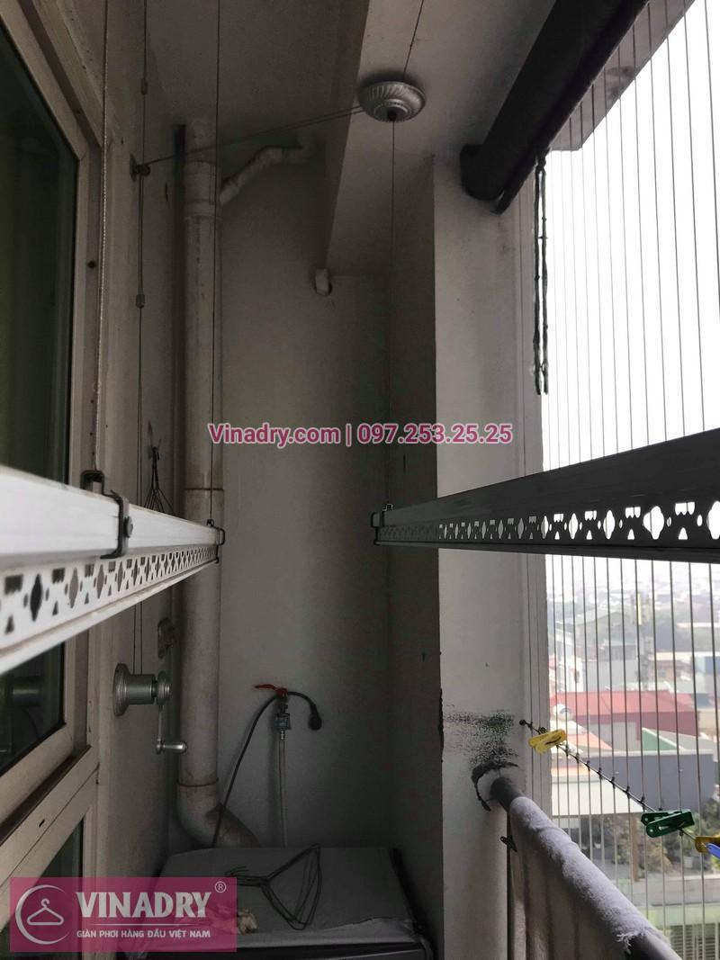 Vinadry thay bộ tời giàn phơi KS950 cho nhà anh Tạo tại chung cư 25 Tân Mai, quận Hoàng Mai - 07