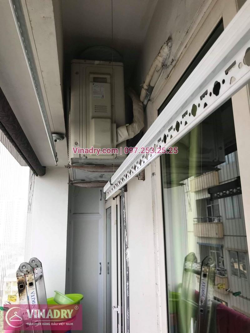 Vinadry thay bộ tời giàn phơi KS950 cho nhà anh Tạo tại chung cư 25 Tân Mai, quận Hoàng Mai - 08