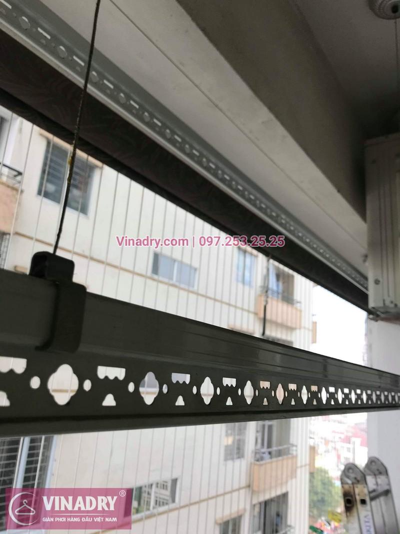 Vinadry thay bộ tời giàn phơi KS950 cho nhà anh Tạo tại chung cư 25 Tân Mai, quận Hoàng Mai - 10
