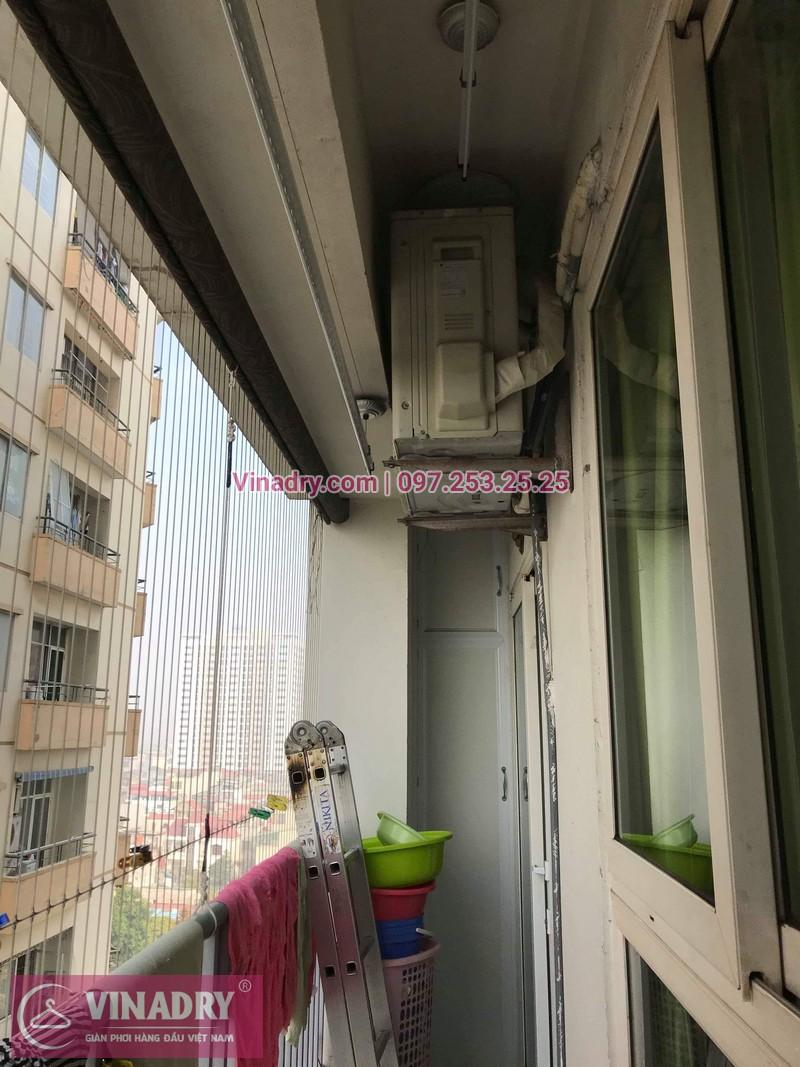 Vinadry thay bộ tời giàn phơi KS950 cho nhà anh Tạo tại chung cư 25 Tân Mai, quận Hoàng Mai - 11