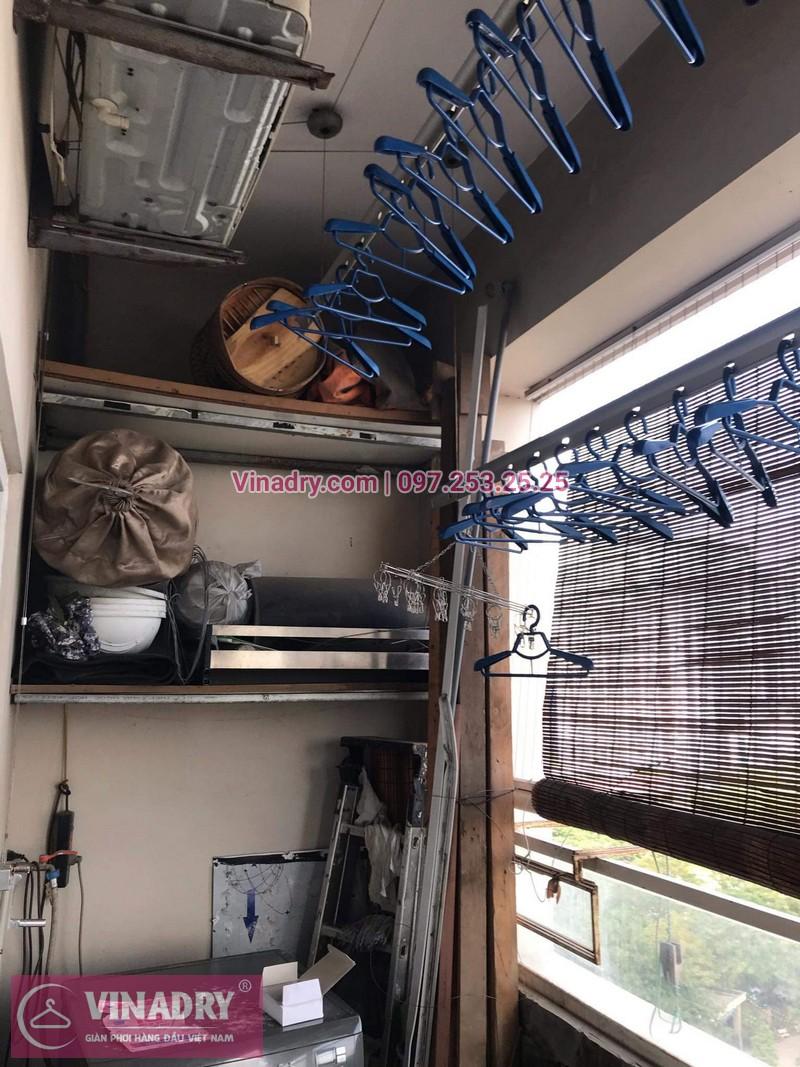 Vinadry thay bộ tời giàn phơi Thanh Xuân cho nhà chú Thủ tại chung cư Hapulico - 07
