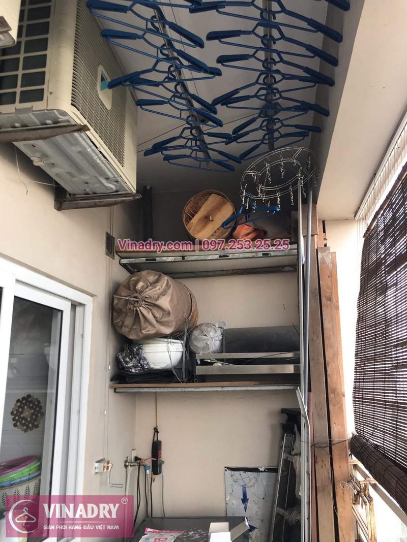 Vinadry thay bộ tời giàn phơi Thanh Xuân cho nhà chú Thủ tại chung cư Hapulico - 08