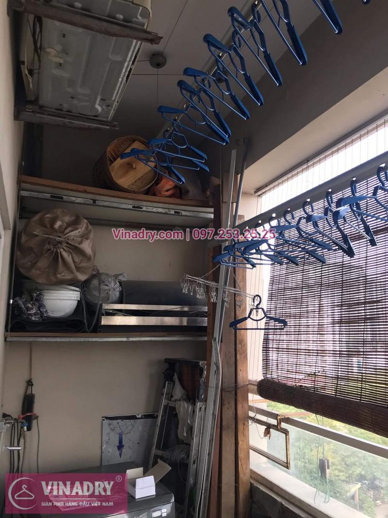 Vinadry thay bộ tời giàn phơi Thanh Xuân cho nhà chú Thủ tại chung cư Hapulico - 11