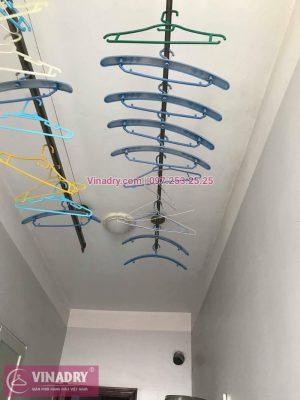 Vinadry thay 2 dây cáp giàn phơi giá rẻ cho nhà anh Phong tại căn 903 nhà A2, KĐT Mỹ Đình 1, Nguyễn Cơ Thạch, Nam Từ Liêm