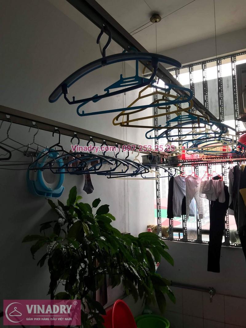 Vinadry thay 2 dây cáp giàn phơi giá rẻ cho nhà anh Phong tại căn 903 nhà A2, KĐT Mỹ Đình 1, Nguyễn Cơ Thạch, Nam Từ Liêm - 10