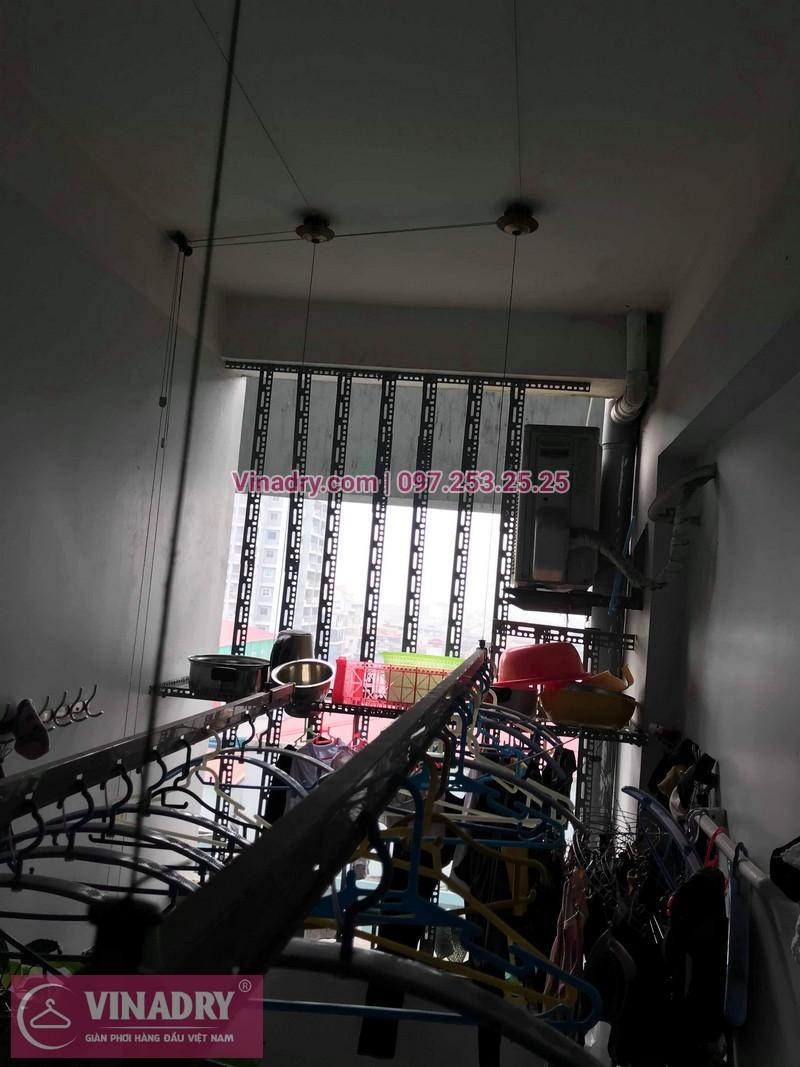 Vinadry thay 2 dây cáp giàn phơi giá rẻ cho nhà anh Phong tại căn 903 nhà A2, KĐT Mỹ Đình 1, Nguyễn Cơ Thạch, Nam Từ Liêm - 11