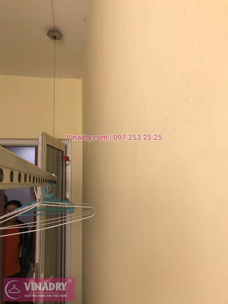 Vinadry thay dây cáp giàn phơi nhanh tại 505 Minh Khai, Hai Bà Trưng cho nhà chị Gấm - 01