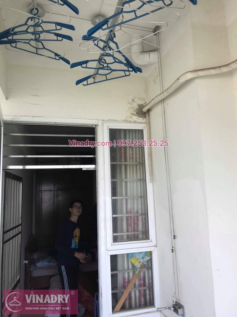 Vinadry thay dây cáp giàn phơi Hà Đông tại chung cư The Pride Hải Phát cho nhà cô Kiểm - 10