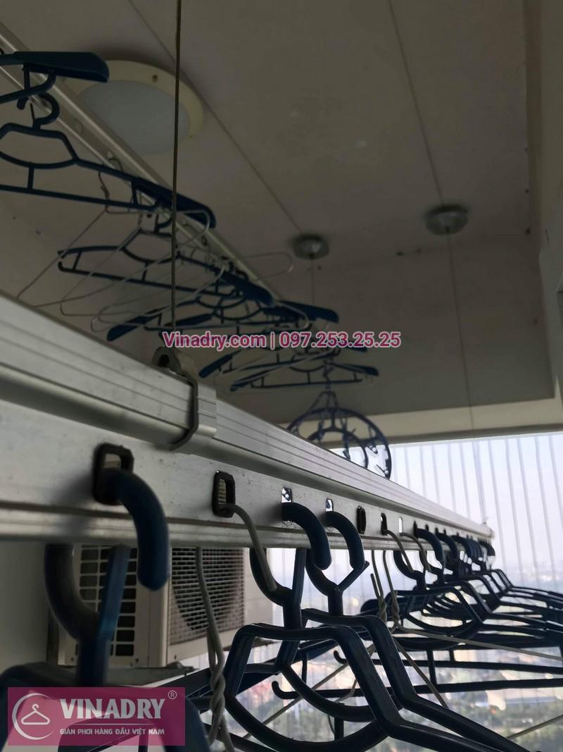 Vinadry thay dây cáp giàn phơi Hà Đông tại chung cư The Pride Hải Phát cho nhà cô Kiểm - 11