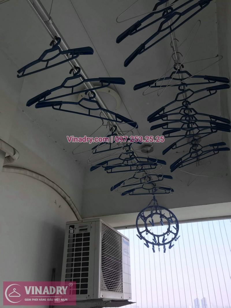 Vinadry thay dây cáp giàn phơi Hà Đông tại chung cư The Pride Hải Phát cho nhà cô Kiểm - 01