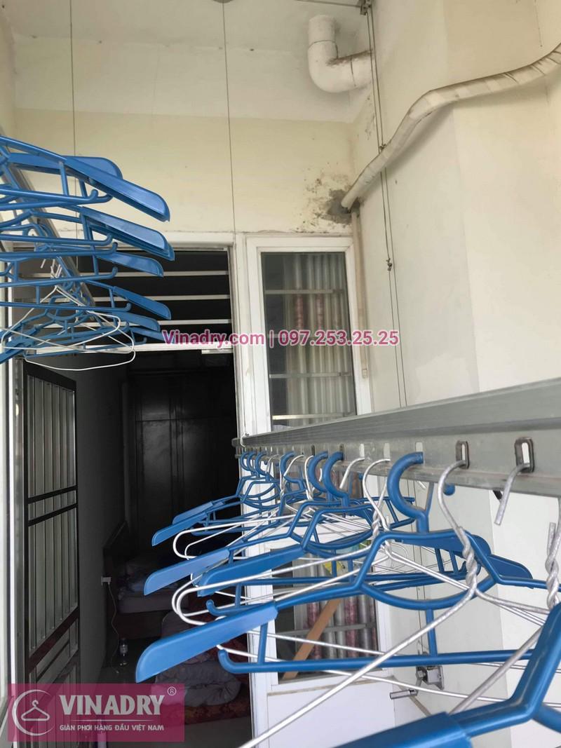 Vinadry thay dây cáp giàn phơi Hà Đông tại chung cư The Pride Hải Phát cho nhà cô Kiểm - 03