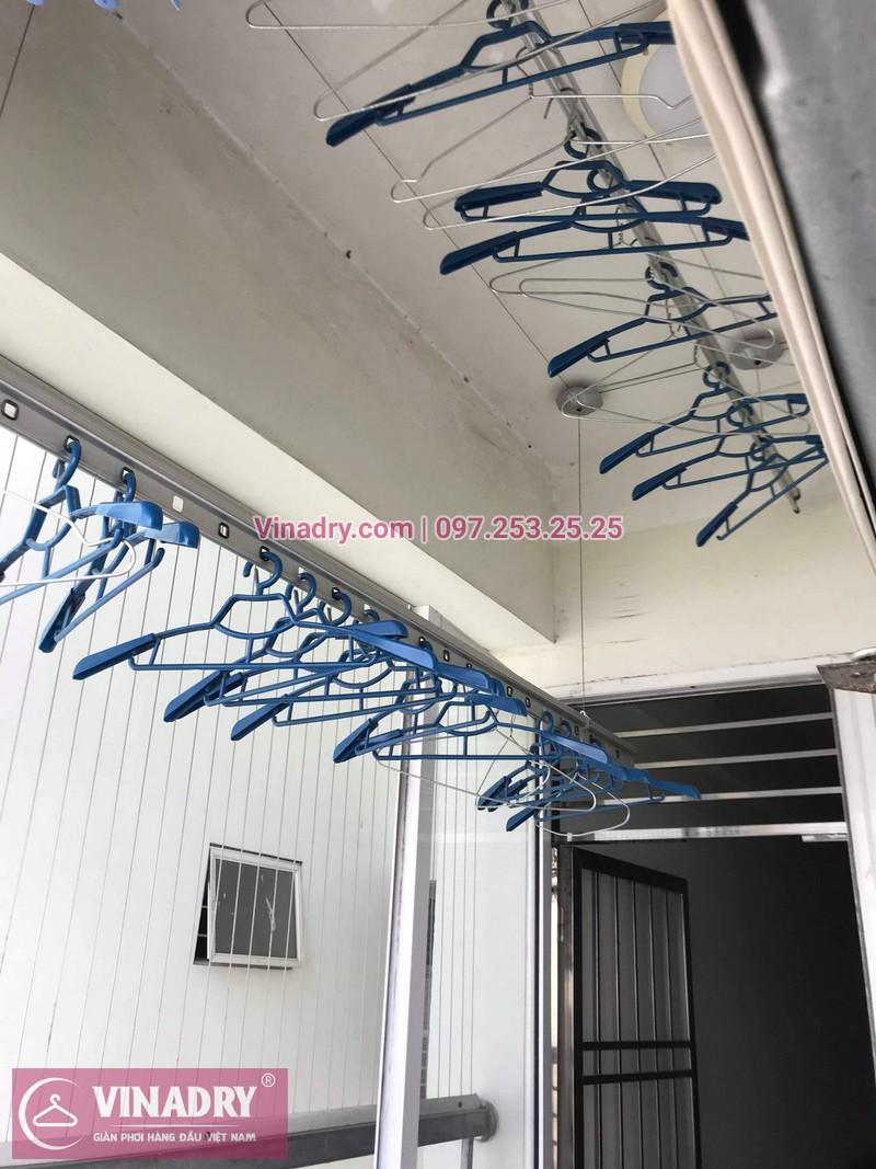 Vinadry thay dây cáp giàn phơi Hà Đông tại chung cư The Pride Hải Phát cho nhà cô Kiểm - 04
