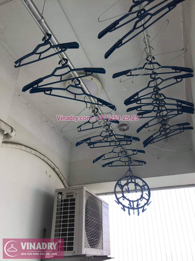 Vinadry thay dây cáp giàn phơi Hà Đông tại chung cư The Pride Hải Phát cho nhà cô Kiểm - 05