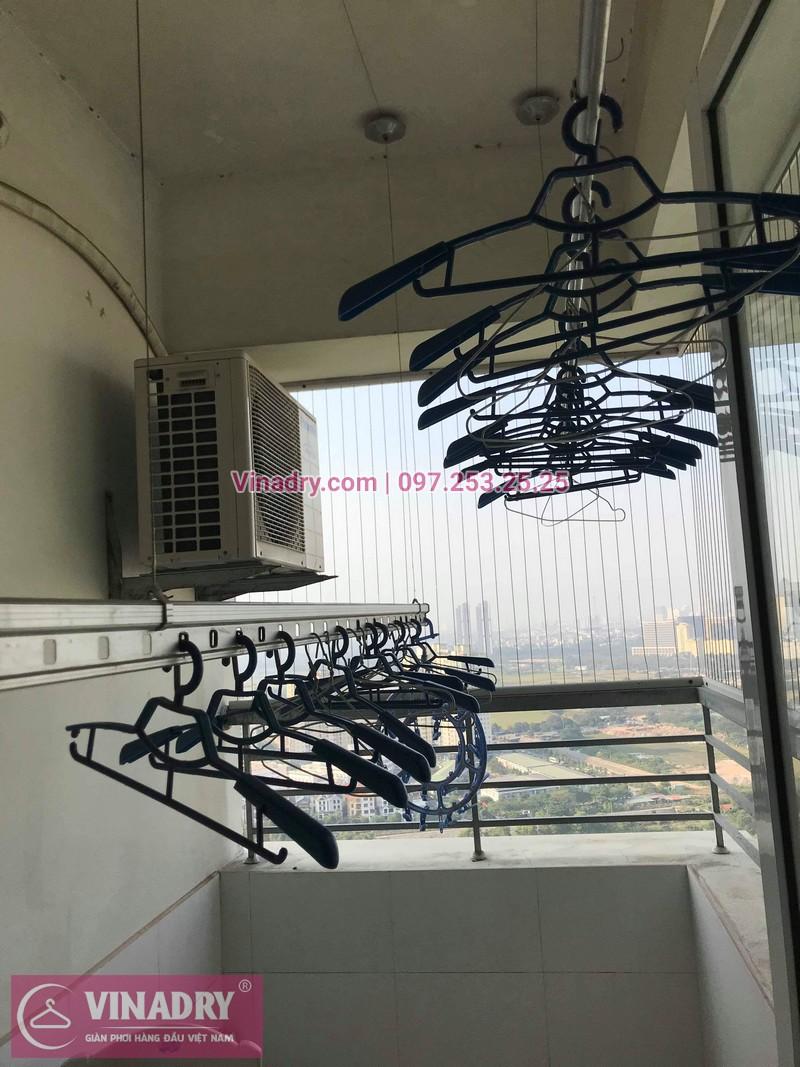Vinadry thay dây cáp giàn phơi Hà Đông tại chung cư The Pride Hải Phát cho nhà cô Kiểm - 07