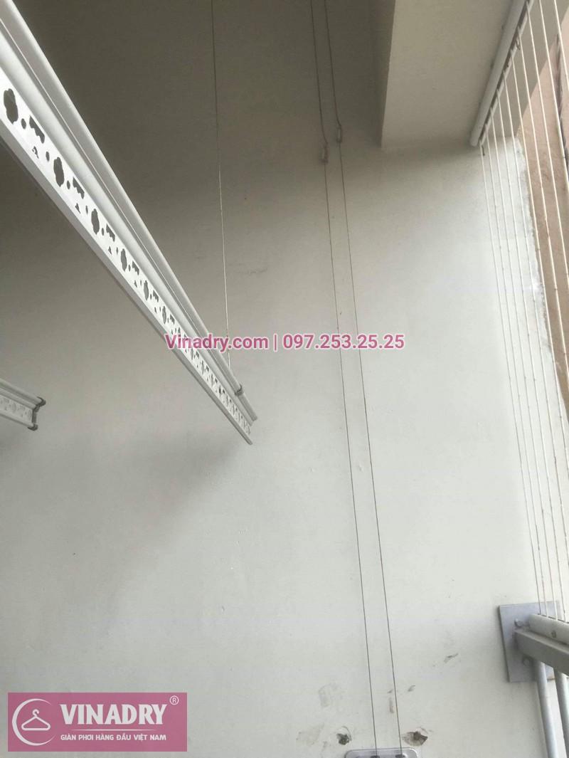 Vinadry sửa chữa giàn phơi thông minh Hà Đông cho gia đình chị Quy, căn hộ B2406 chung cư Xuân Mai, Tô Hiệu