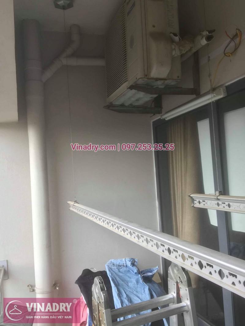 Vinadry sửa chữa giàn phơi thông minh Hà Đông cho gia đình chị Quy, căn hộ B2406 chung cư Xuân Mai, Tô Hiệu - 03