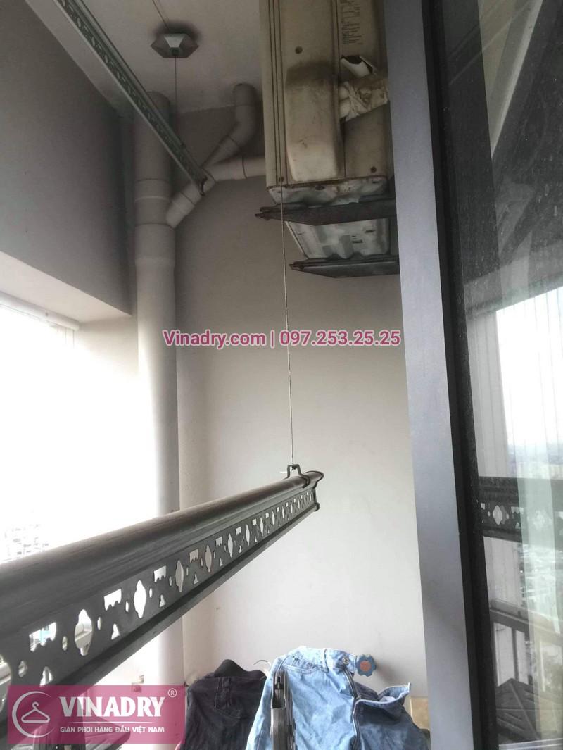 Vinadry sửa chữa giàn phơi thông minh Hà Đông cho gia đình chị Quy, căn hộ B2406 chung cư Xuân Mai, Tô Hiệu - 05