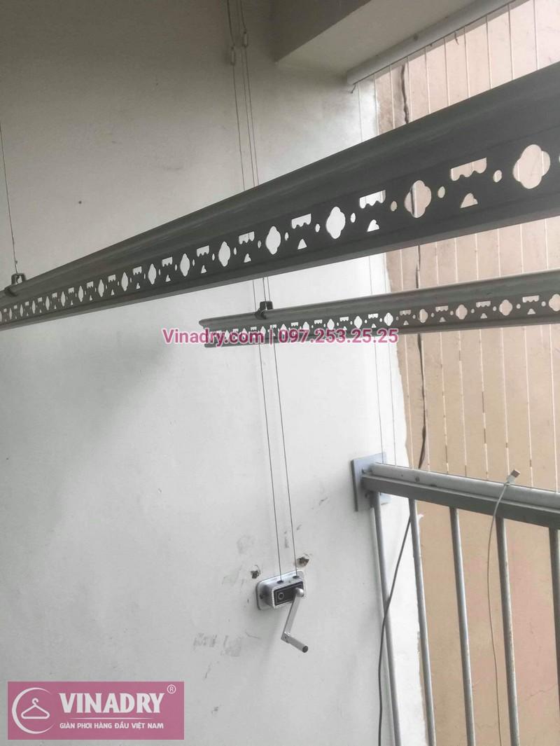Vinadry sửa chữa giàn phơi thông minh Hà Đông cho gia đình chị Quy, căn hộ B2406 chung cư Xuân Mai, Tô Hiệu - 06
