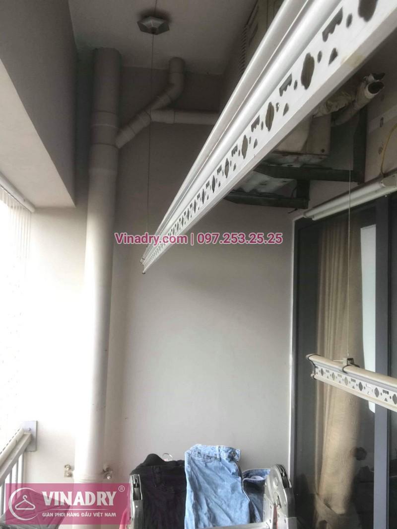 Vinadry sửa chữa giàn phơi thông minh Hà Đông cho gia đình chị Quy, căn hộ B2406 chung cư Xuân Mai, Tô Hiệu - 07