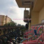 Vinadry thay dây cáp giàn phơi giá rẻ tại Long Biên, chung cư 9 tầng Sài Đồng cho nhà chị Miên