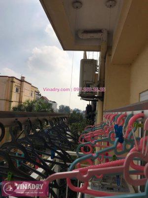 Vinadry sửa chữa giàn phơi, thay dây cáp giàn phơi giá rẻ tại Long Biên, chung cư 9 tầng Sài Đồng cho nhà chị Miên