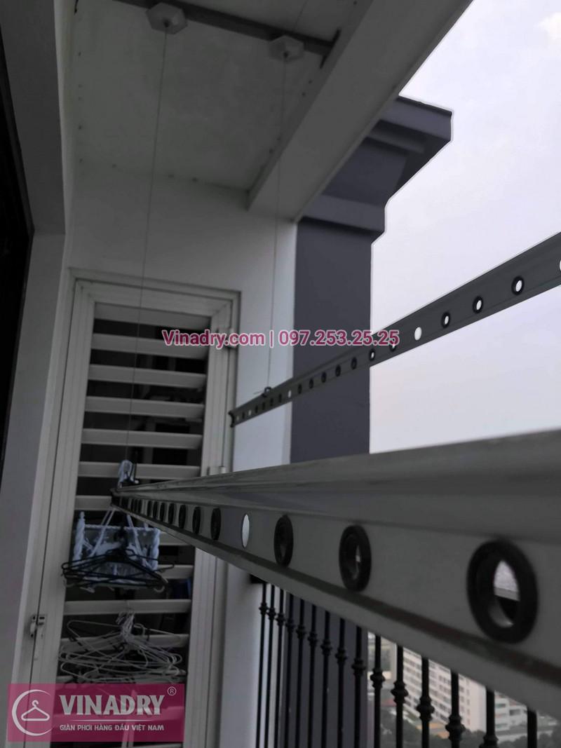 Vinadry thay dây cáp giàn phơi thông minh tại Times City cho nhà anh Tuân, căn 3016, tòa T8 - 01