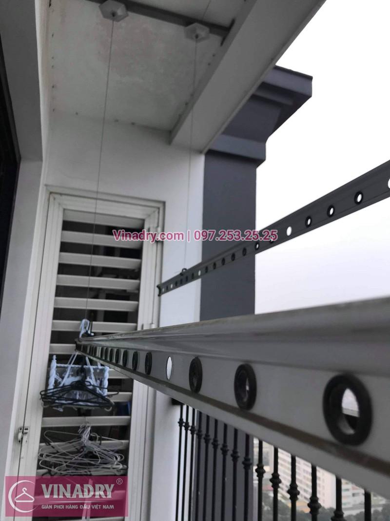 Vinadry thay dây cáp giàn phơi thông minh tại Times City cho nhà anh Tuân, căn 3016, tòa T8 - 06