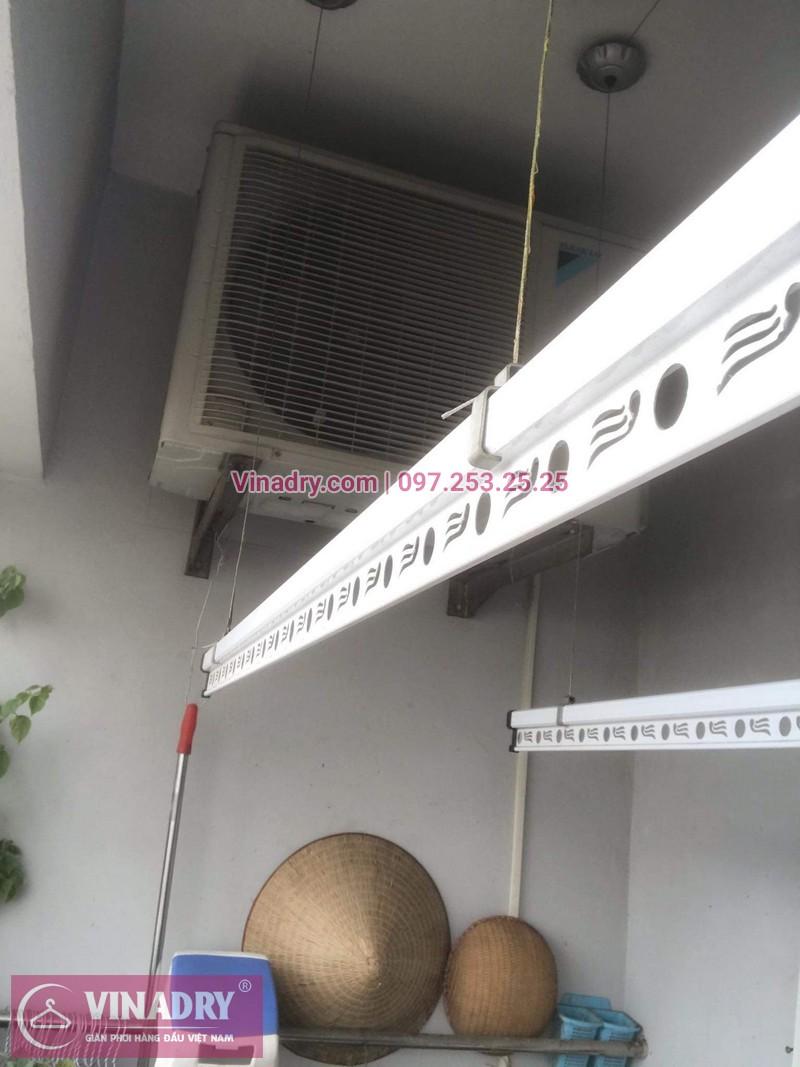 Vinadry chỉ cách thay dây giàn phơi thông minh khi bị đứt cáp cho nhà chi Hợi tại Ecohome 2, Bắc Từ Liêm - 10