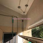 Thay toàn bộ dây cáp giàn phơi tại căn 306 VP4, bán đảo Linh Đàm, Hoàng Mai cho nhà chú Túc
