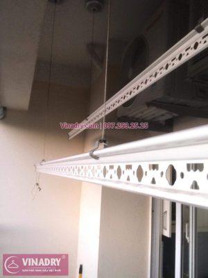 Vinadry sửa chữa giàn phơi, thay dây cáp tại khu đô thị Vĩnh Hoàng, Hoàng Mai cho nhà chị Thương