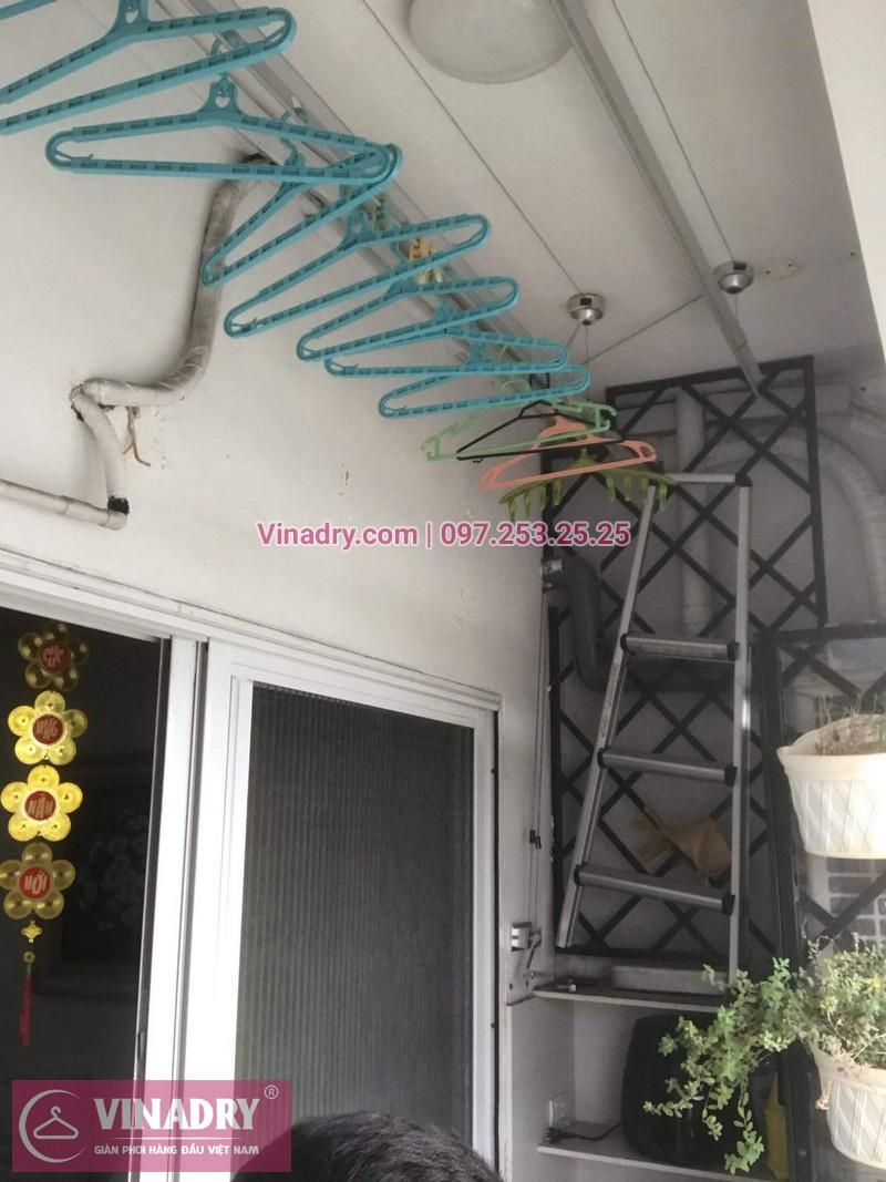 Vinadry thay dây cáp trong bộ tời tại ngõ Xã Đàn 2, Đống Đa cho nhà bác Tuệ - 03