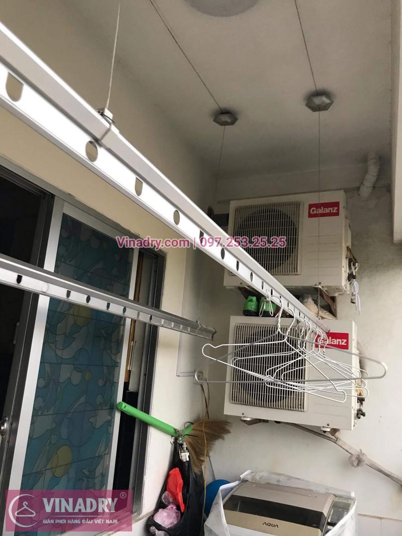 Vinadry thay dây cáp giàn phơi giá rẻ tại Việt Hưng, Long Biên cho nhà chị Liên - 07