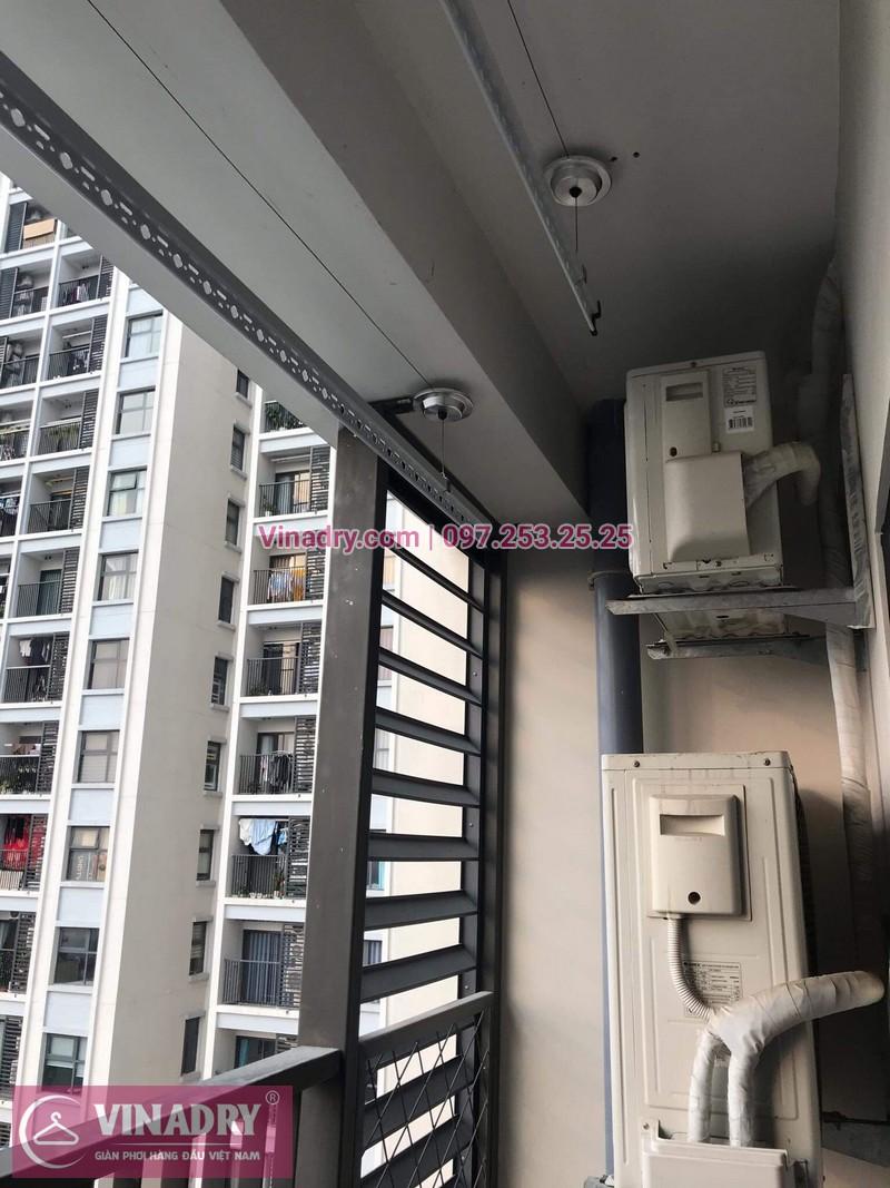 Giàn phơi thông minh - Vinadry lắp giàn phơi thông minh HP701 tại Ecopark cho nhà chị Thư - ảnh 03