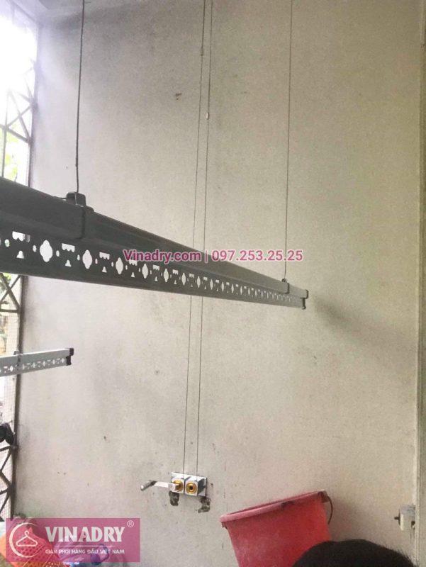 Lắp giàn phơi thông minh giá rẻ - Vinadry lắp giàn phơi HP999B tại chung cư Newtaco, Ba Đình cho nhà anh Kiên - Vinadry bán linh kiện giàn phơi giá tốt nhất