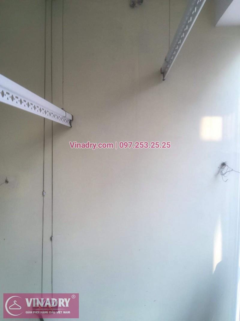 Vinadry lắp giàn phơi siêu rẻ HP999B tại KĐT Việt Hưng, Long Biên cho nhà anh Tạ - 04