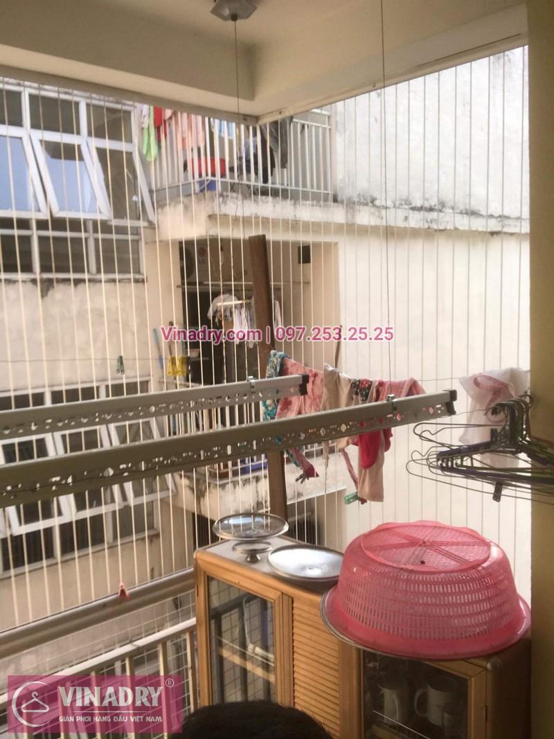Vinadry lắp giàn phơi siêu rẻ HP999B tại KĐT Việt Hưng, Long Biên cho nhà anh Tạ - 10