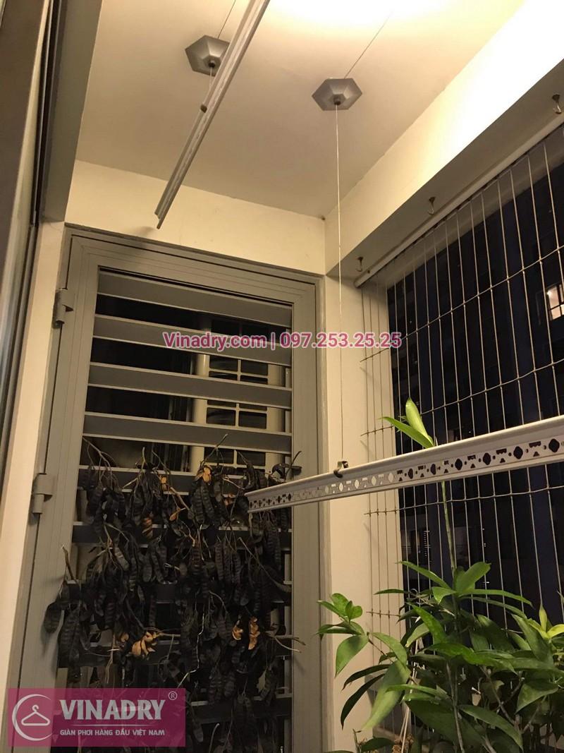 Vinadry lắp đặt giàn phơi thông minh giá rẻ HP368 tại ParkHill, TimesCity, căn 0511 cho nhà chú Tín - 01