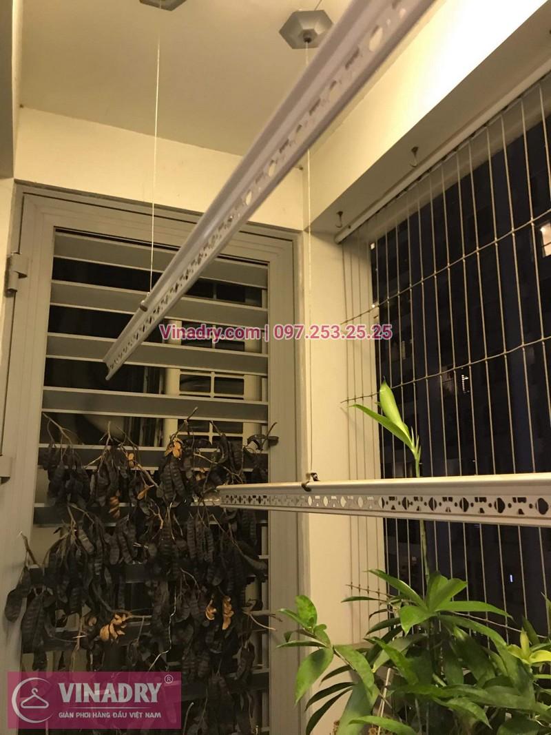Vinadry lắp đặt giàn phơi thông minh giá rẻ HP368 tại ParkHill, TimesCity, căn 0511 cho nhà chú Tín - 03