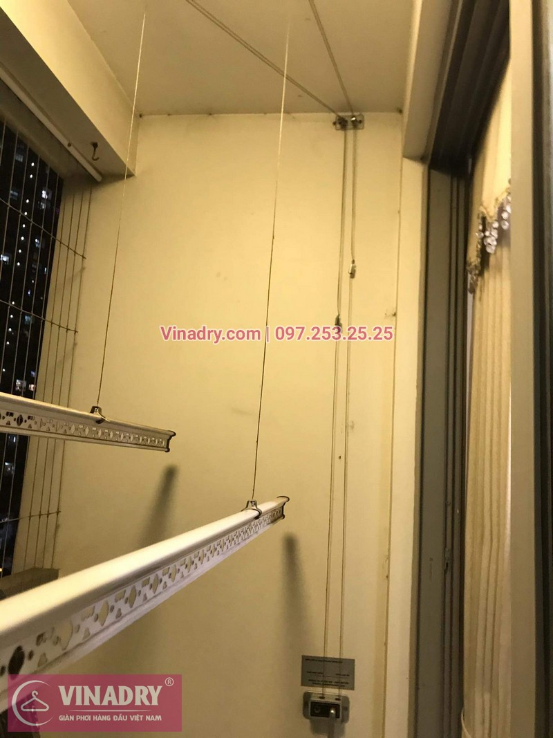 Vinadry lắp đặt giàn phơi thông minh giá rẻ HP368 tại ParkHill, TimesCity, căn 0511 cho nhà chú Tín - 04