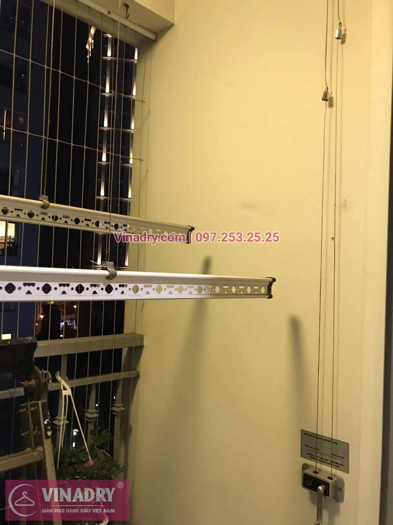 Vinadry lắp đặt giàn phơi thông minh giá rẻ HP368 tại ParkHill, TimesCity, căn 0511 cho nhà chú Tín - 06