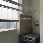 Lắp giàn phơi thông minh và lưới an toàn ban công tại Hoàng Mai, chung cư K35 Tân Mai