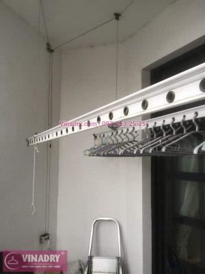 Sửa chữa giàn phơi Thanh Xuân - Thay dây cáp giàn phơi giá rẻ cho nhà chị Tiên tại căn 17 tầng 28 RoyalCity - Thay linh kiện giàn phơi tốt giá rẻ, có bảo hành