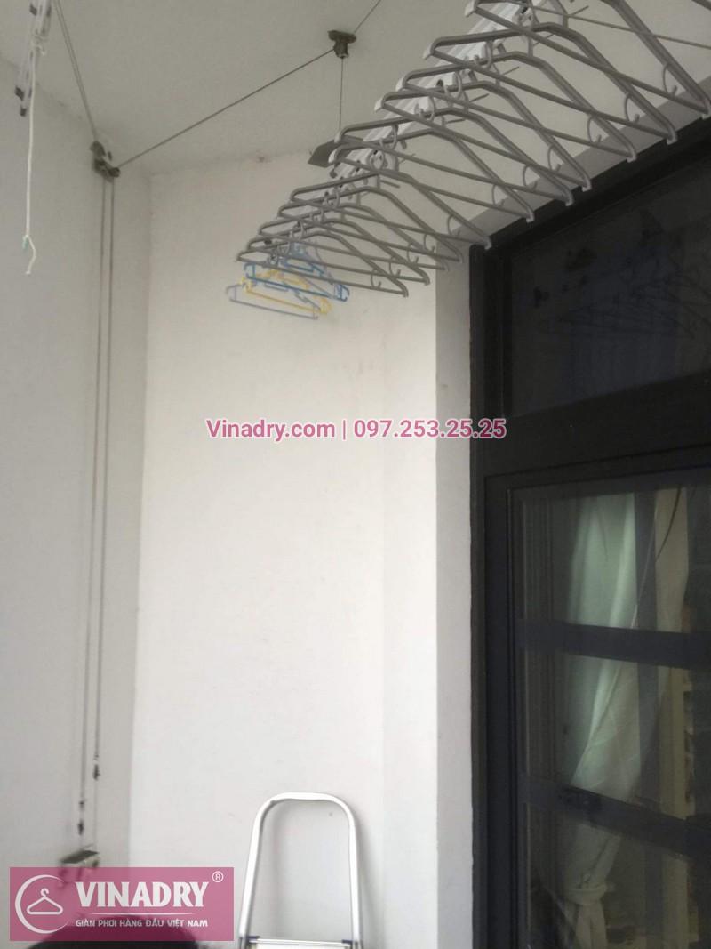 Sửa chữa giàn phơi Thanh Xuân - Thay dây cáp giàn phơi giá rẻ cho nhà chị Tiên tại căn 17 tầng 28 RoyalCity - 04