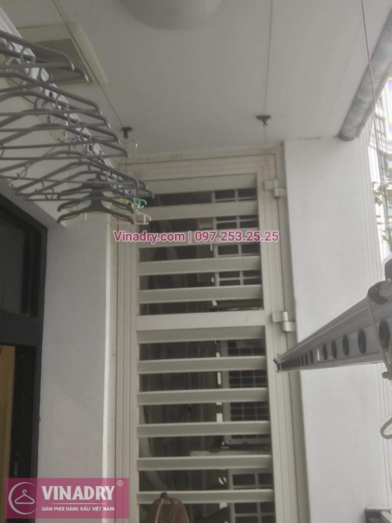 Sửa chữa giàn phơi Thanh Xuân - Thay dây cáp giàn phơi giá rẻ cho nhà chị Tiên tại căn 17 tầng 28 RoyalCity - 06