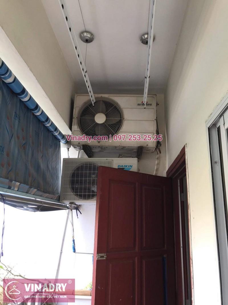 Vinadry thay dây cáp tốt, giá rẻ giàn phơi HP999B tại bán đảo Linh Đàm, Hoàng Mai cho nhà chị Bích - 09