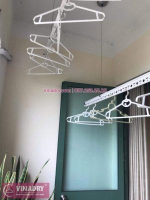 Vinadry sửa giàn phơi thông minh - Thay dây cáp cho giàn phơi HP999B tại chung cư Sky Light ngõ Hòa Bình 6 Minh Khai, Hai Bà Trưng cho nhà anh Trí