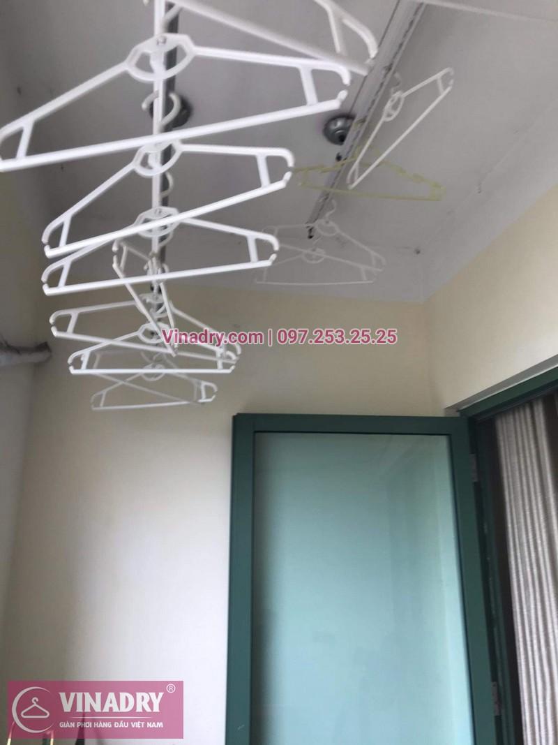 Vinadry sửa giàn phơi thông minh - Thay dây cáp cho giàn phơi HP999B tại chung cư Sky Light ngõ Hòa Bình 6 Minh Khai, Hai Bà Trưng cho nhà anh Trí - 01
