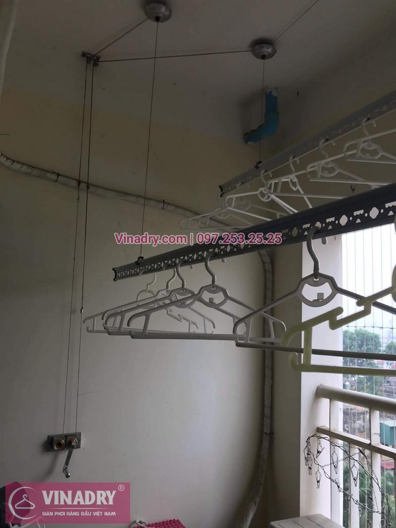 Vinadry sửa giàn phơi thông minh - Thay dây cáp cho giàn phơi HP999B tại chung cư Sky Light ngõ Hòa Bình 6 Minh Khai, Hai Bà Trưng cho nhà anh Trí - 03