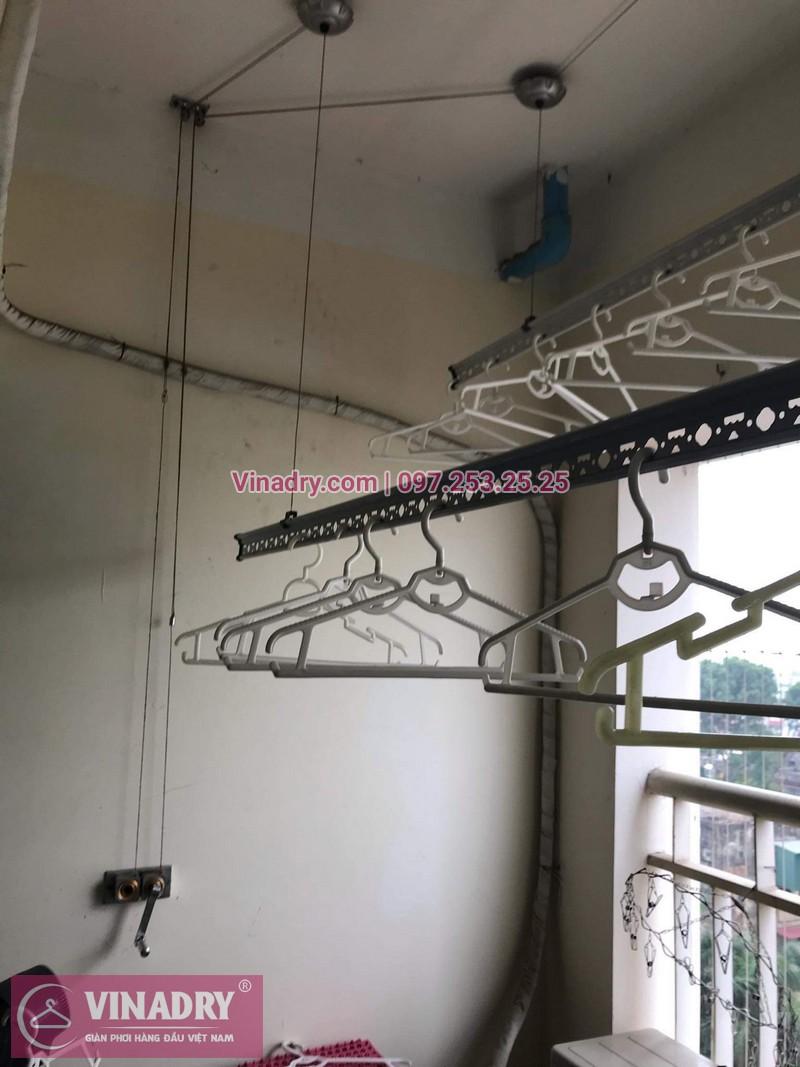 Vinadry sửa giàn phơi thông minh - Thay dây cáp cho giàn phơi HP999B tại chung cư Sky Light ngõ Hòa Bình 6 Minh Khai, Hai Bà Trưng cho nhà anh Trí - 06
